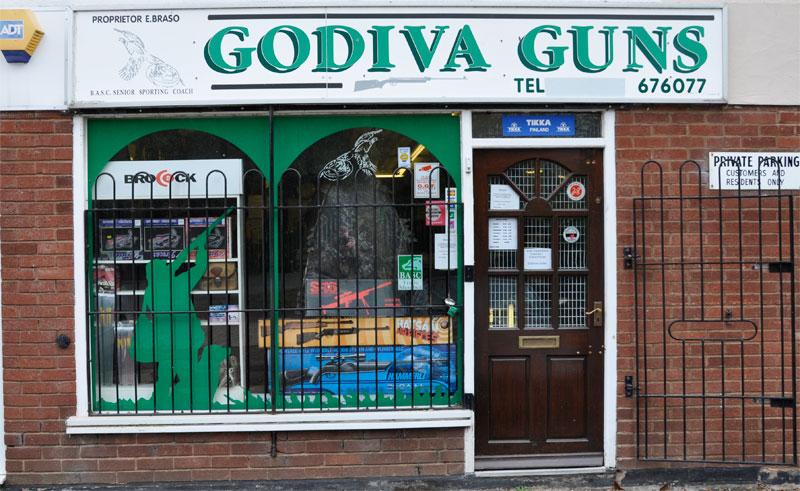 Godiva Gun Shop Covnentry
